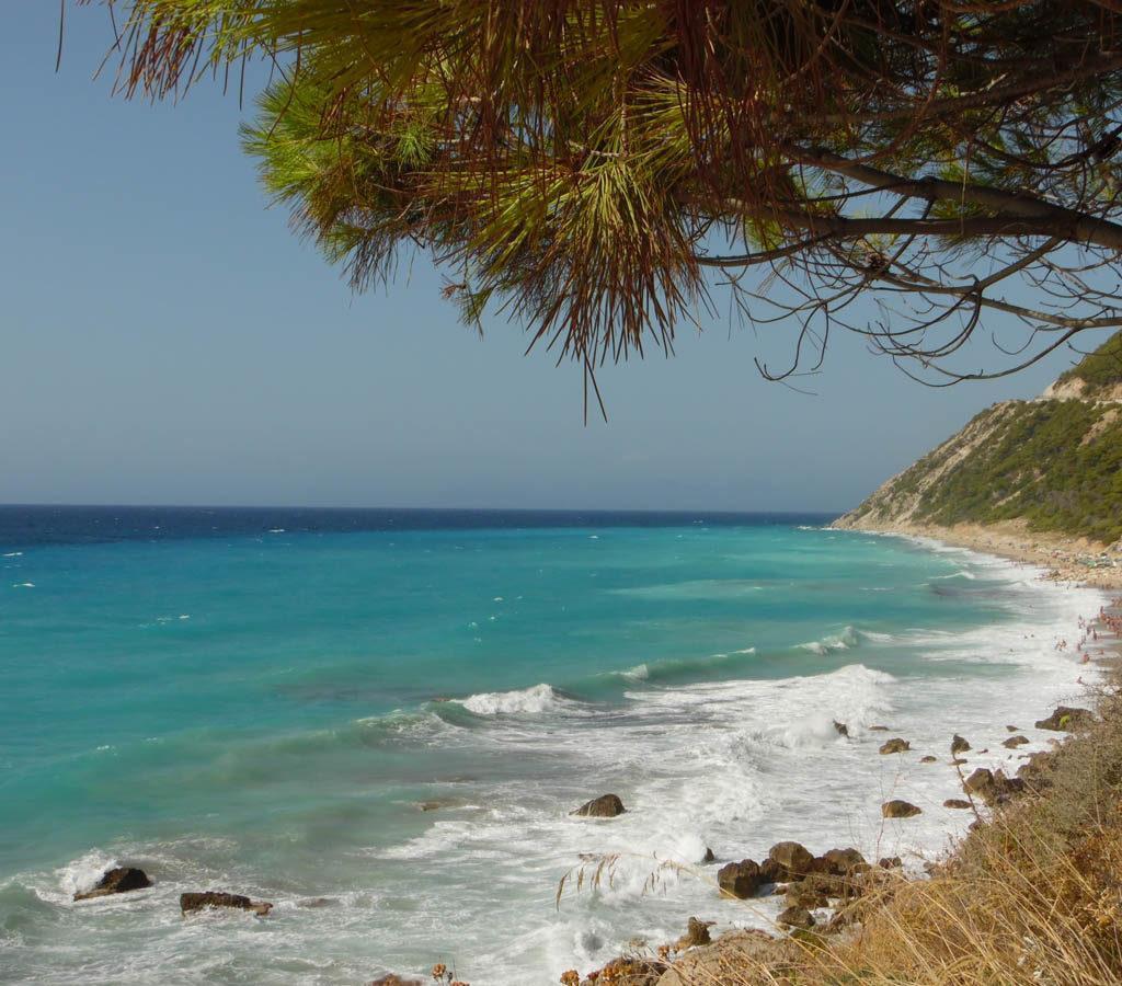 spiaggia lefkada