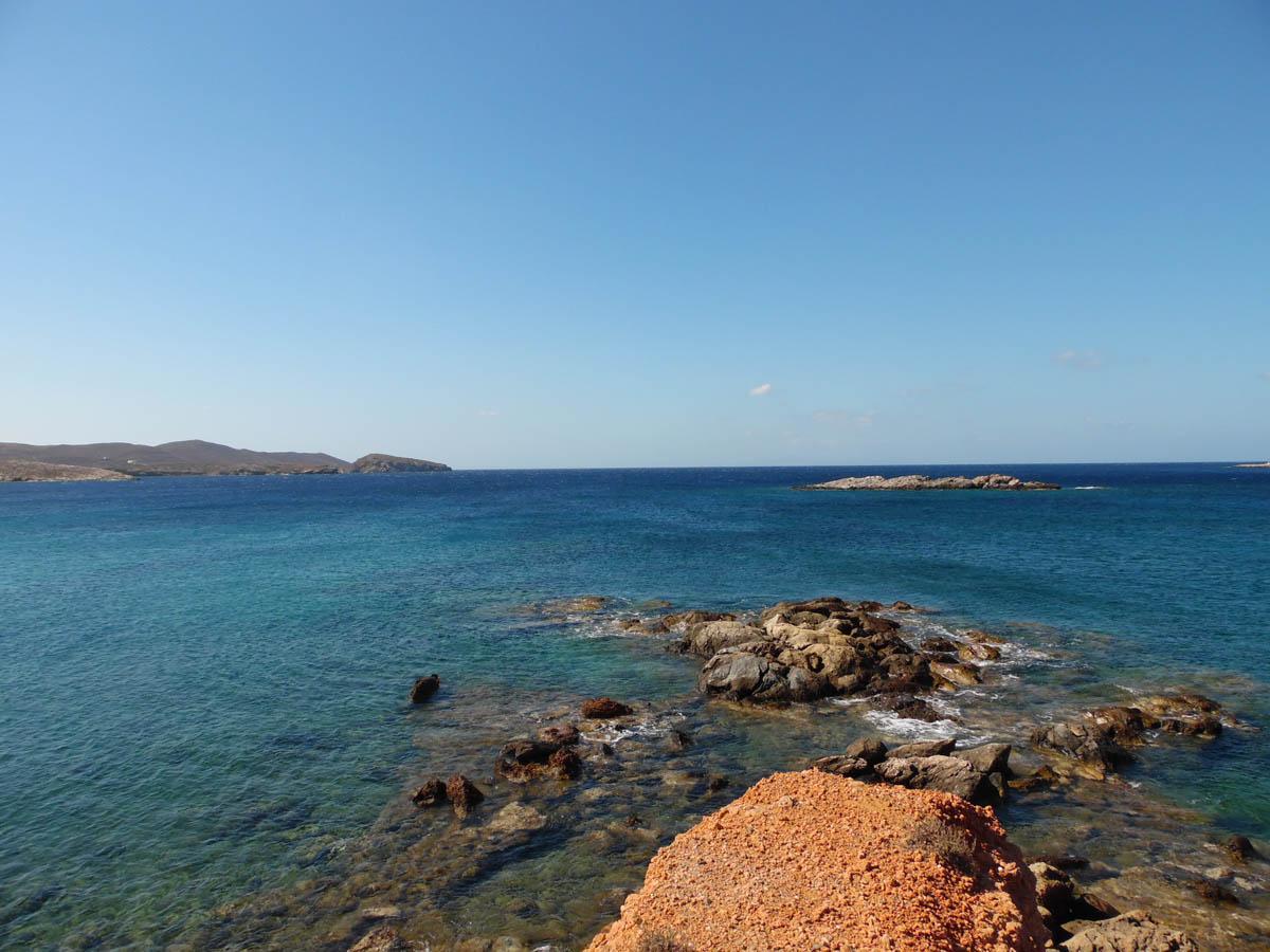 Isola di Syros spiagge nella capitale delle Cicladi