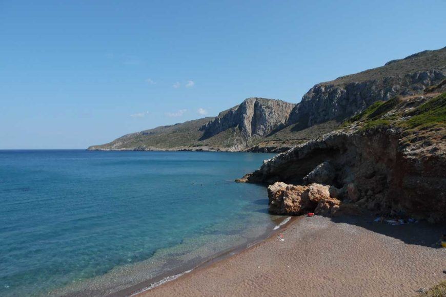lagada beach kithira