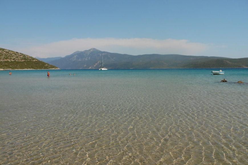 isola di samos spiagge