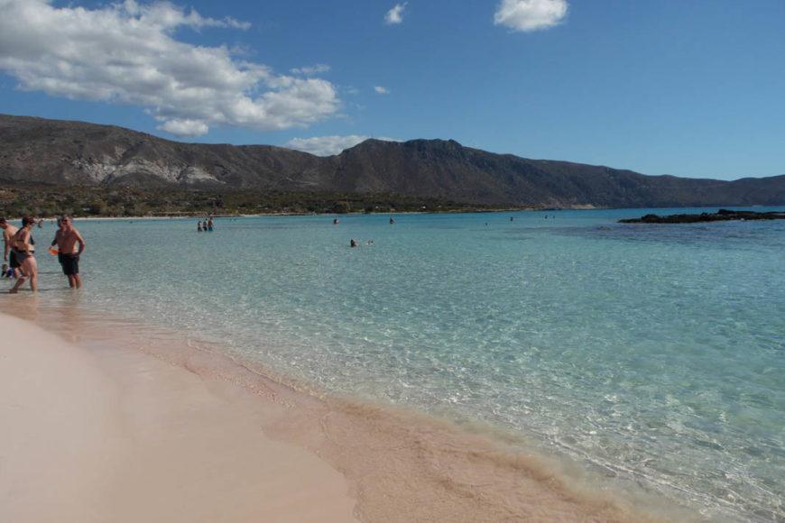 Creta la spiaggia rosa
