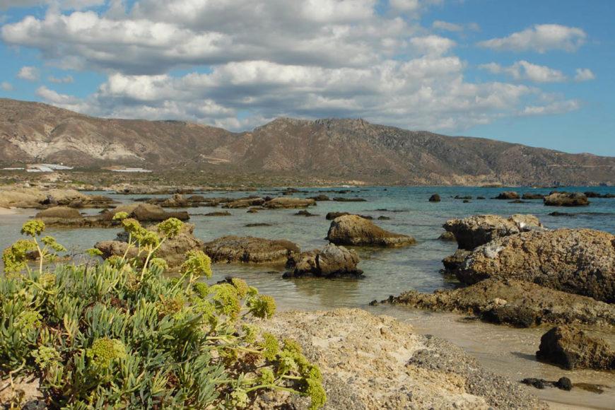 Elafonissi Beach a creta