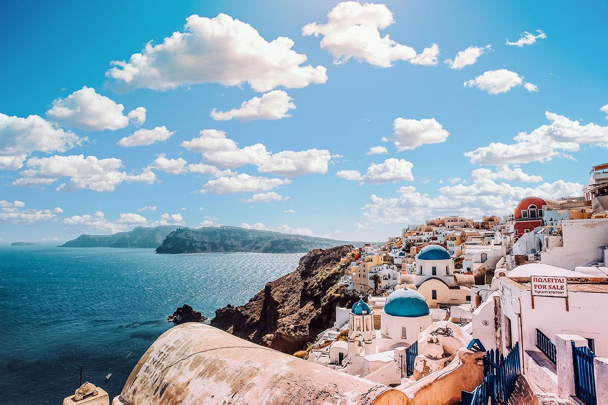 Cosa vedere a Santorini e dove alloggiare - Europainviaggio