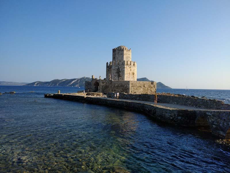 Fortezza di Methoni grecia