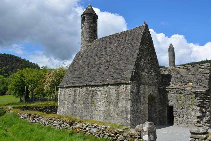 Glendalough in irlanda