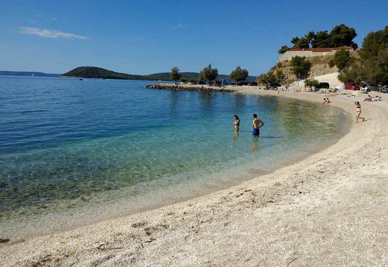 spiaggia a Spalato