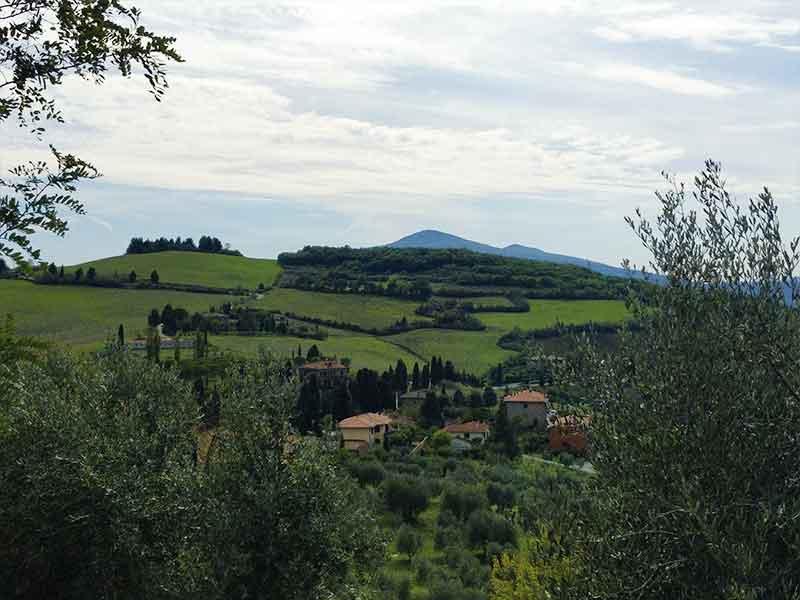 panorama monticchiello