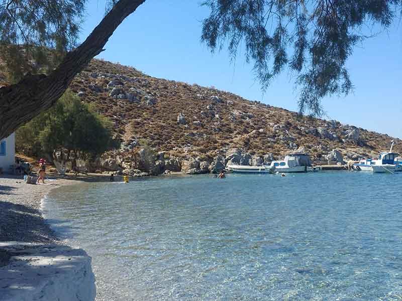 blycadia beach kalymnos