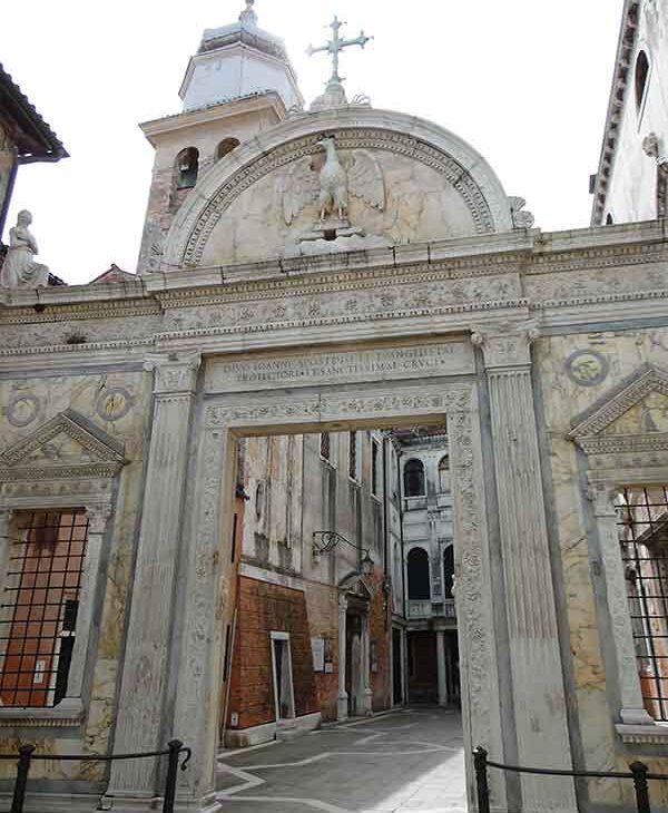 Portale della Scuola San Giovanni