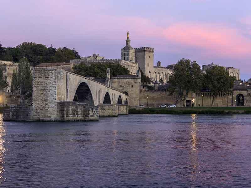 Avignone in provenza