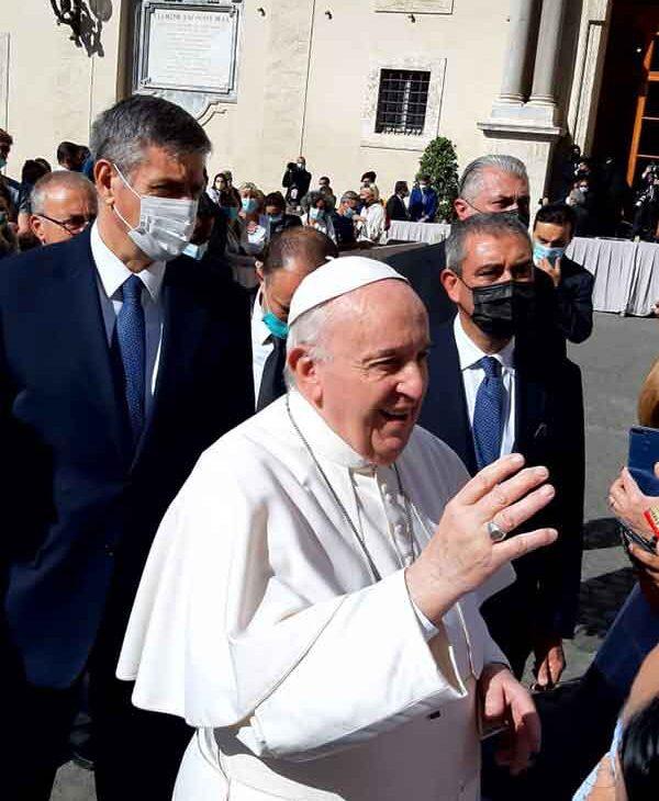 Incontrare il Papa