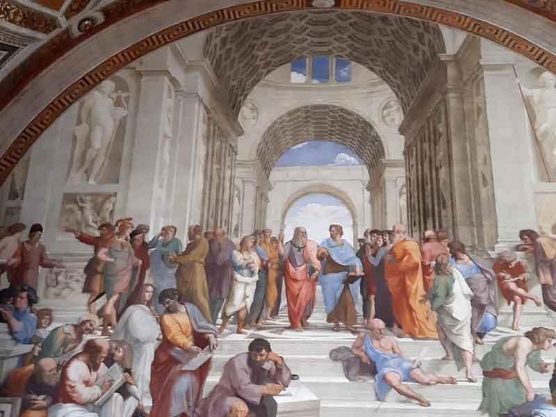 Musei Vaticani Scuola di Atene