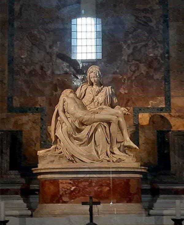 La Pietà del Michelangelo