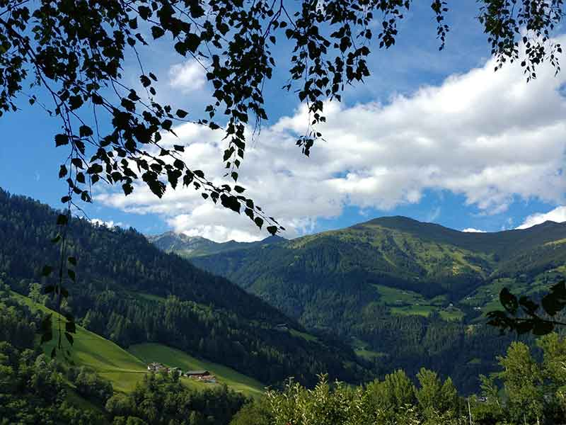 Panorama in val Passiria